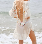 Crochet Insert Backless Tassel Set $35